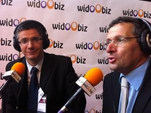 Christian Mayoud et Bruno Maniouloux de CER France sur Widoobiz au Salon des Entrepreneurs