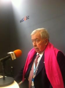 Pierre Bellon, fondateur et président de Sodexo, sur Widoobiz Radio, à l'université d'été du MEDEF