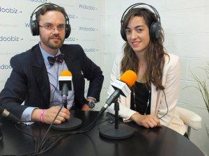 Benoit Duchatelet avec Sandrine Mourao de Tiki'mee