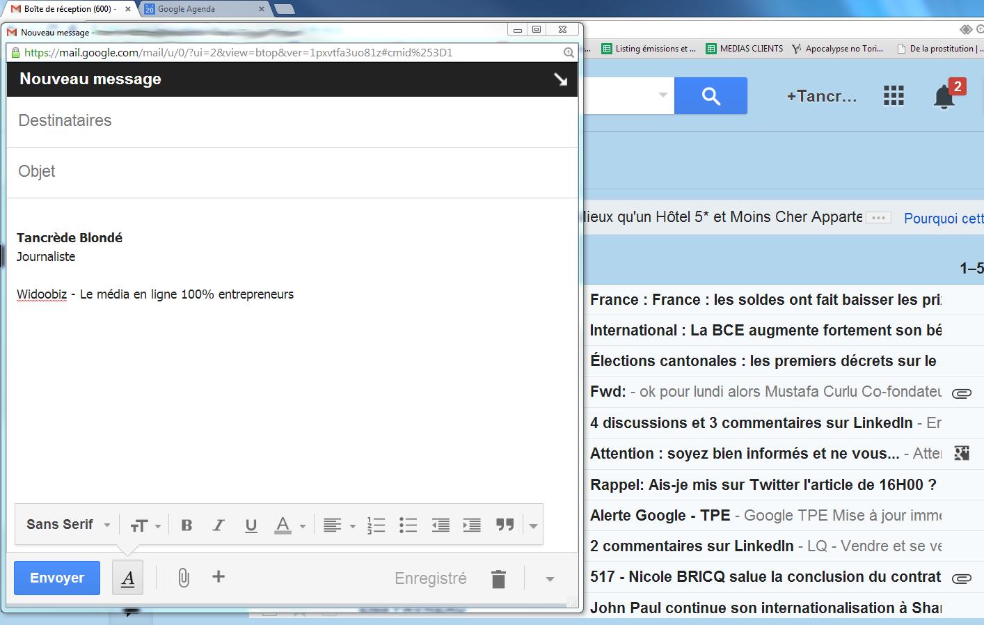 Gmail les 7 raccourcis clavier qui vont vous changer la vie for Raccourci clavier agrandir fenetre windows 7