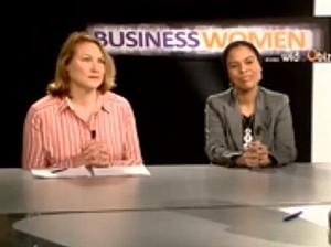 Business women Suzanne Haimet et Samantha Pastour
