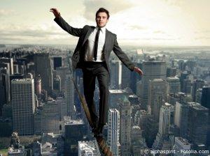 entrepreneur en équilibre