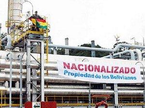 Bolivie nationalisation