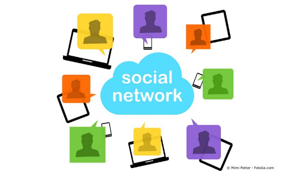 réseaux sociaux facebook twitter Flickr Viadeo LinkedIn