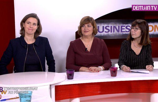 Marie Eloy, Sandra Le Grand et Vivianne de Beaufort
