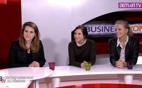 Aurélie Truchet, Maâde Guettouche et Alexandra Thiltgès