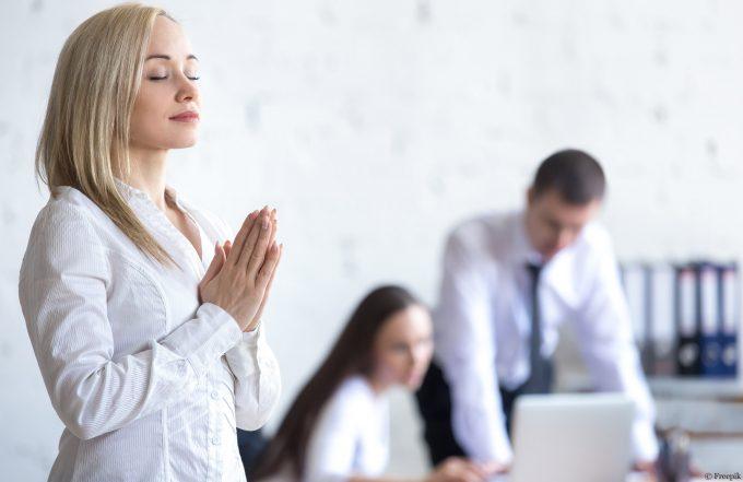 Méditer au bureau