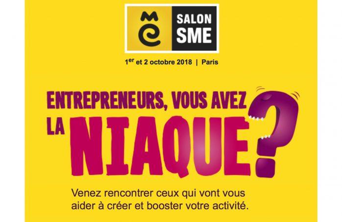 salon SME à Paris les 1er et 2 octobre 2018