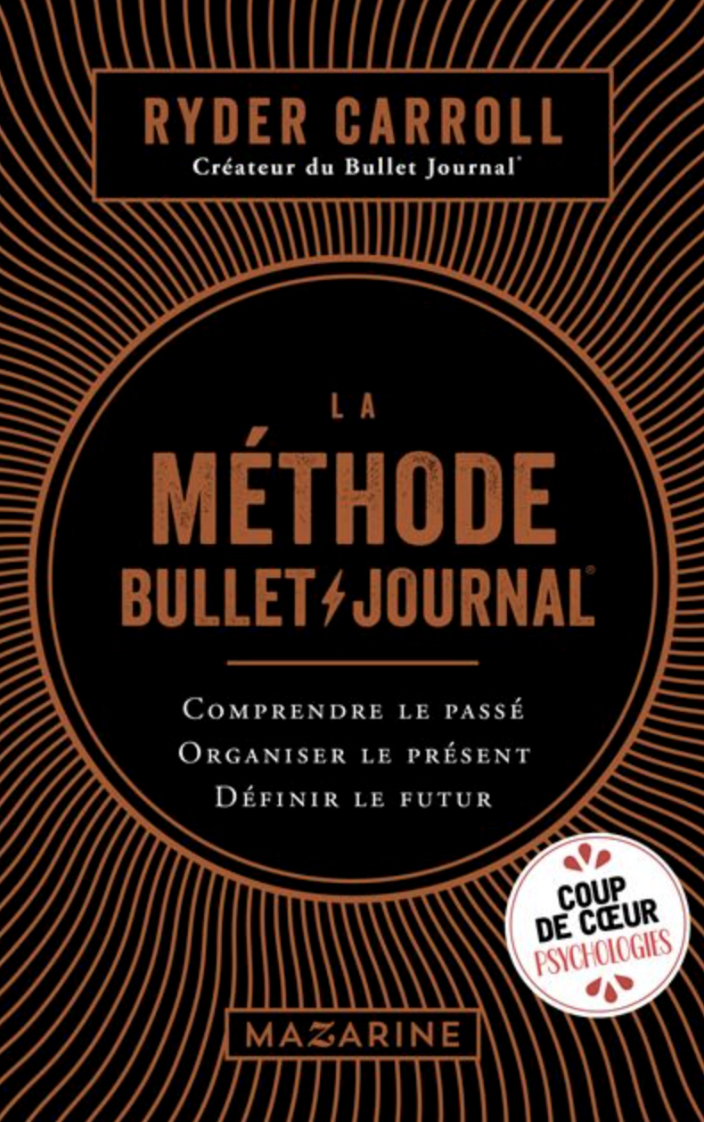 Méthode Bullet Journal-Ryder Carroll